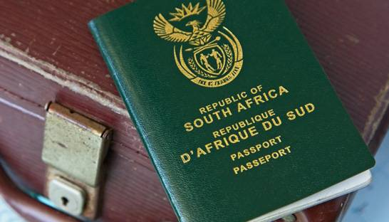 South Africa's passport is getting weaker in a global setting